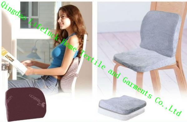 Memory Foam Lumbar Support Cushion For Office Chair Custom Bolster Pillows Images