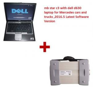 China Multi Language 2016.12 MB Star C3 Mercedes Diagnostic Tool with Dell D630 Laptop Works with Cars & Trucks on sale