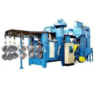 Cycle Chain Type Hanger Type Shot Blasting Machine Steel Structure Parts Cleaning