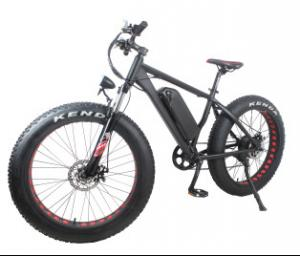 China Geared Electric Fat Bike 48v 750w With Sinewave System , High Speed 35-40km/h on sale