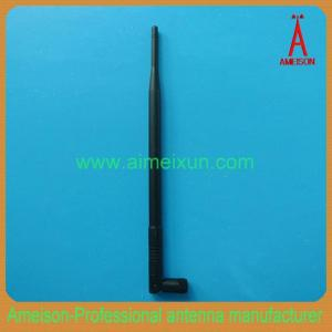 China Ameison 2.4GHz 9dBi Rubber Duck WiFi Antenna for wireless USB adapter or router on sale