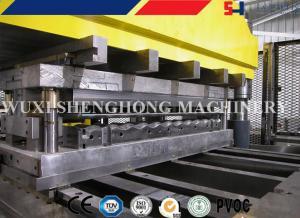China O PLC controla o telhado pré-perfurando do silo do telhado de aço do silo que faz a máquina on sale