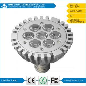 China Dimmable E27 7W hot sell LED PAR light CE&RoHS AC220V made in China on sale