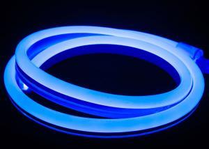 China Blue Led Neon Tube Light Flex  LED Neon Rope Light 14mm*26mm 10W/M Waterproof Soft Neon Strip Lights on sale