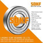 SDKF 6206-2RS-ZZ Metal Shielded Seal Deep Groove Ball Bearing 30x62x16mm
