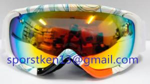 China Latest fashion ski goggles with UV400 on sale