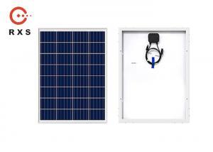 China Polycrystalline Framed Custom Flexible Solar Panels 60W / 36 Cells / 12V on sale