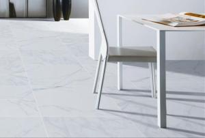 China Polished Porcelain Floor Tile That Looks Like Marble Low Absorption Rate on sale