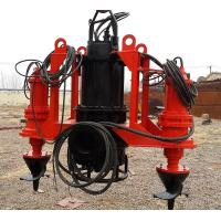 China Low Pressure Submersible Slurry Pump Long Term Bearing Life Easy Operation on sale