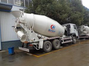 China 9 Cubic Meters Concrete Mixer Truck , Sinotruk Howo 336hp Ready Mix Cement Truck on sale