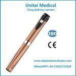 Refillable 3 ml 0-60IU Insulin Syringe Pen Injector for Diabetes