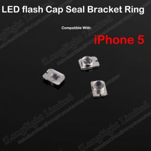 China LED Flash Cap Seal Bracket Ring Replacement For iPhone 5 on sale