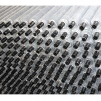 China Extruded aluminum spiral cooling fin tube on sale