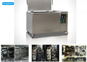 China High Frequency Ultrasonic Cleaning Machine With SUS304 / SUS316 3000W 264L on sale