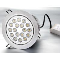 China 18W 50000h Epistar / Edsion / Cree High Power Dimmable CE Led Recessed Ceiling Lights Bulb on sale