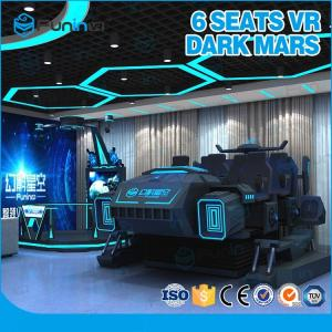 China Mech Style Virtual Reality 9D VR Cinema Six Players Indoor VR Game With VR Helmet on sale