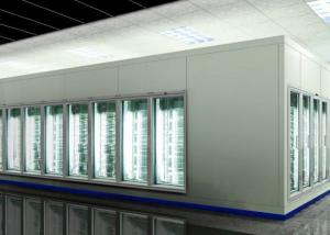 China Low Temperature Polyurethane Cold Storage Room Freezer With White Core on sale