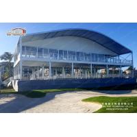 China 50m Width Arcum Shape Double Decker Tents For Outdoor Exhibition Event on sale