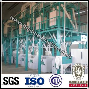 China maize flour milling machine flour automated corn milling machine super white maize meal on sale