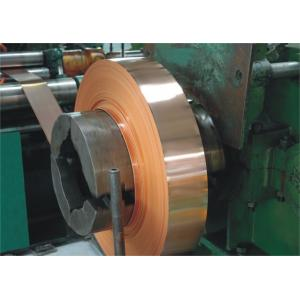 China Shield Copper Foil For Rf Cable , Leaky Feeder Cable Copper Strip Test on sale