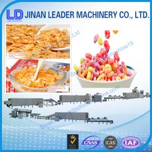 China Cost-saving Shandong China Corn Flakes Breakfast Cereals process line on sale