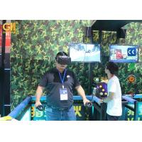 Virtual Reality Brother Battle Video Game Machine With 360 Degree View