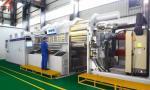Industrial 152mm 50 Micron PET Aluminium Coating Machine
