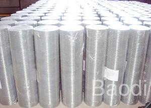 China Transportation Stainless Welded Mesh , Square Mesh Wire Cloth Hot Dipped Galvanized on sale