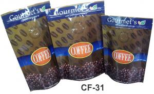 China 100 micron Customized Plastic Bag Packaging PET / AL / PE For Coffee / Tea on sale