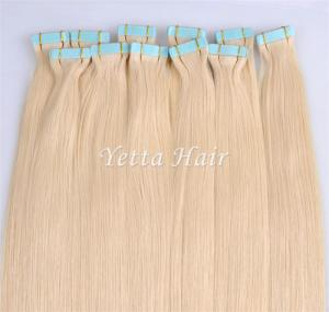 China Healthy Blonde Pre Bonded Hair Extensions No Any Bad Smell And No Mixture on sale