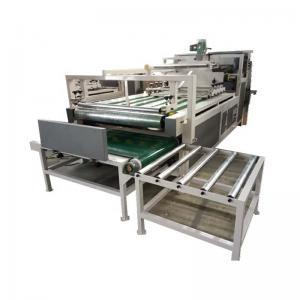China Corrugated Carton Folding Gluing Machine Semi Auto Control Easy Operation on sale