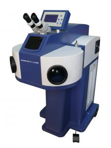 China PE - W150 / W200 Laser Spot Welding Machine On Gold and Silver on sale