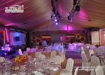 China White Outdoor Event Tents for Wedding Receptions , Wedding Marquee wholesale