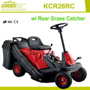"""China 26"""" and 8HP Riding Mower with rear grass catcher for garden , park or school campus on sale"""