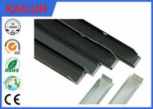 China Les extrusions en aluminium de cadres solaires, argentent la structure de support solaire en aluminium anodisée on sale