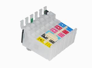 China Empty Refillable Ink Cartridges , Epson T0851N Refill Cartridges Recycling on sale