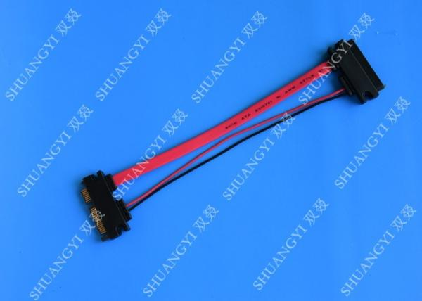 """20/"""" SATA Data and Power Slimline Combo Cable Adapter with LP4 Power 20in"""