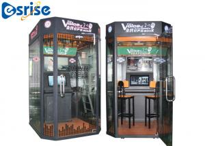 China Easy Dual Game Karaoke Machine , Mobile Vocal Booth Internet Music Database on sale