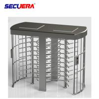 Speed Gate Cross Security Products Full Height Turnstile For Office Building Access Control