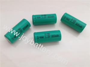 China NiMH 3/4 AA 1.2V 800mAh battery,AA 2100mAh,1.2V Nimh AAA,AA,A,SC,C,D rechargeable battery on sale