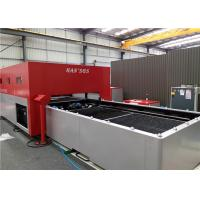 CNC laser cutting machine for thin to medium - thick stainless steel processing