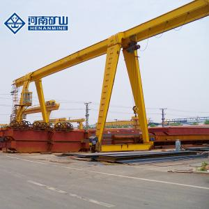 China 20m/Min Sandblast Cab A3 Single Beam Gantry Crane Outdoor Using on sale
