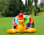 Cartoon Tortoise Inflatable Bouncer Kids Jumping Castle Structures Gonflables