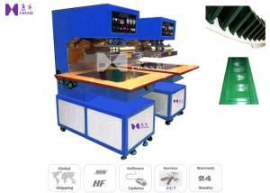 China Machine de soudure de bande de conveyeur de PVC/unité centrale de haute fréquence 15KW 5 fois/minute on sale