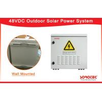 Wall Mounted 48VDC Outdoor Solar Power System Power Supply with MPPT Solar Controller