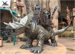 Outdoor Amusement Park Decoration Life Size Waterproof Dinosaur Fiberglass Model