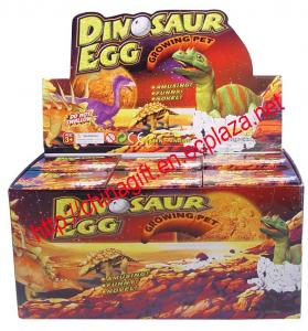 China Hatching Dinosaur Egg Growing Pets Toy on sale