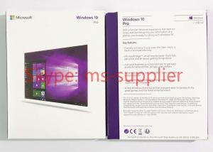China USB3.0 Computer System Softwares Microsoft Windows 10 Professional 64 Bit DVD on sale