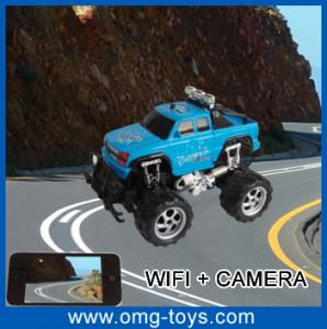 China 7.2V RC Battery 70M-100M Remote Distance Wifi Controlled Indoor RC Car With 0.3Mega-Pixel on sale
