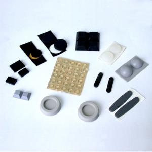 China Custom Silicone Parts Rubber Bumpers Rubber Feet Self Adhesive or Both Side Adhesive on sale